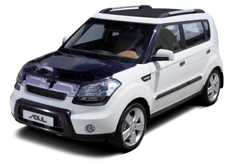 2008 Kia Mpg by 2008 Preview Kia To Unveil An 48 Mpg Soul Hybrid