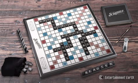 Elevate With Hasbro S Scrabble Onyx Edition