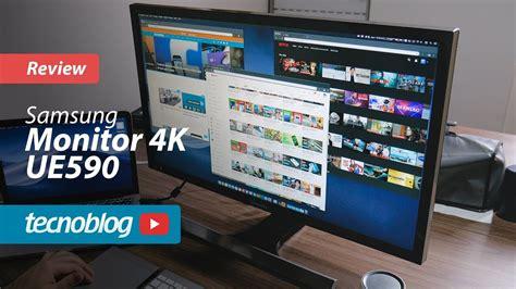 monitor  samsung ue review tecnoblog youtube