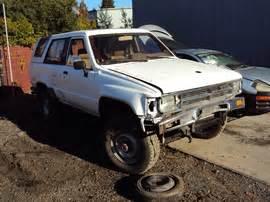 1986 Toyota 4runner Parts 1986 Toyota 4runner Sr5 2 Door 2 4l Turbo Efi At 4x4 Color