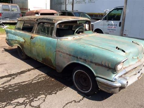 1957 chevrolet nomad for sale 1957 chevrolet nomad 2dr v8 4spd project car for sale in