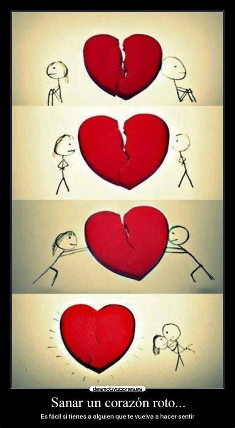 imagenes de corazones en reparacion sanar un coraz 243 n roto desmotivaciones
