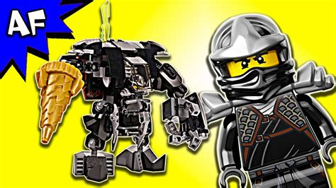 Lego Ninjago Cole Of Earth custom lego ninjago cole s earth mech moc speed build