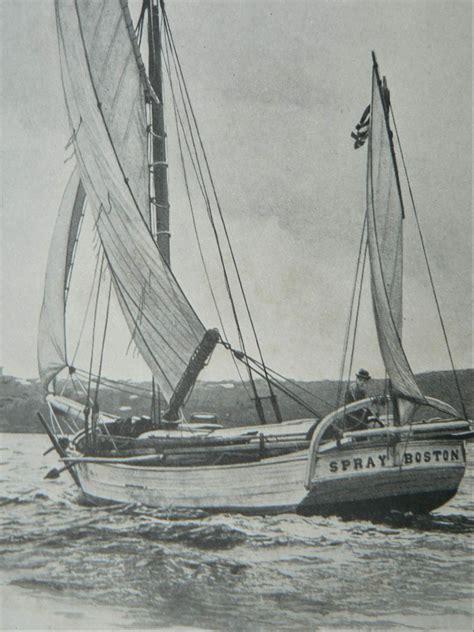 sailboat joshua joshua slocum was the first man to sail single handedly