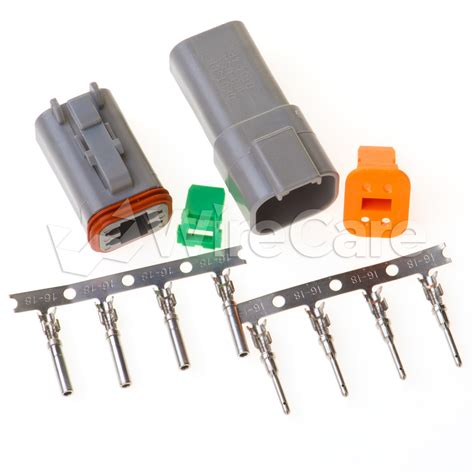 connector kit 4 pin connector kit wirecare