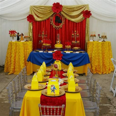 Beauty And The Beast Decorations by Southern Blue Celebrations Beauty And The Beast Party Ideas