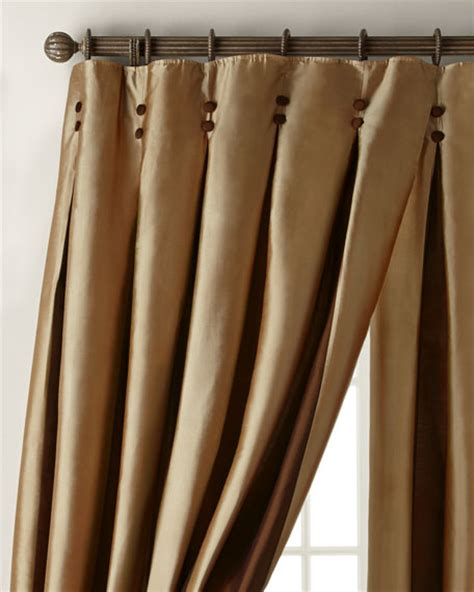 inverted pleat curtains amity home inverted pleat curtains
