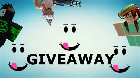 Roblox Giveaway - roblox accounts giveaway youtube