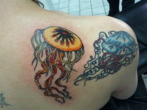 jellyfish tattoo on shoulder 72 beautiful jellyfish tattoos