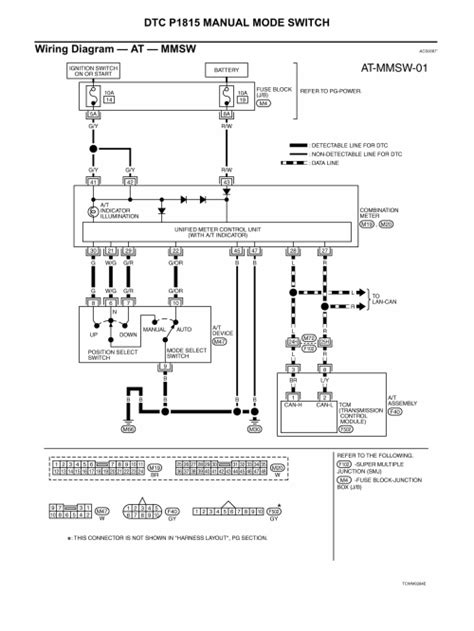 automotive repair manual 2004 infiniti g35 transmission control repair guides transmission transaxle 2004 automatic transmission 5 autozone com