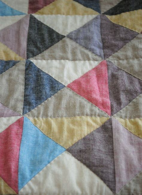Purl Patchwork - broken dishes baby quilt purl soho create quilts