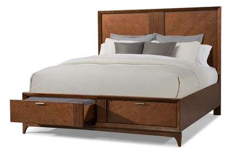 Mcm California King Bedroom Set by Brown Cherry Mid Century Modern 6 California King