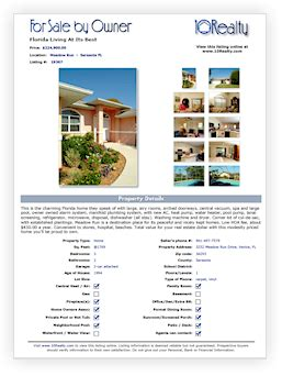 free fsbo flyer template free real estate flyer template
