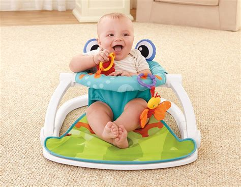 sit up chair for baby fisher price sit me up floor seat frog