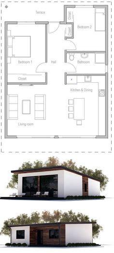 tradicional plano de casa de     dormitorios