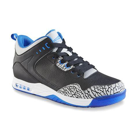 kmart basketball shoes catapult s commander black blue high top basketball shoe