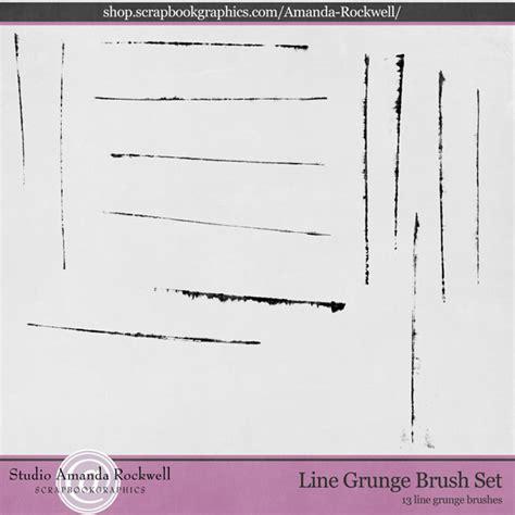 line pattern brushes photoshop line grunge brush set photoshop brushes