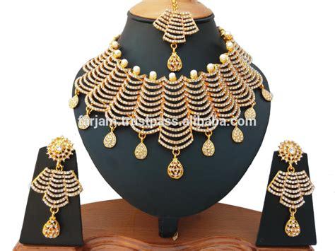 Anting India Kundan indian terbaru grosir royal terinspirasi kundan manik manik batu perhiasan pengantin