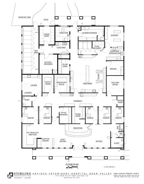 vet clinic floor plans design to wow veterinary clients