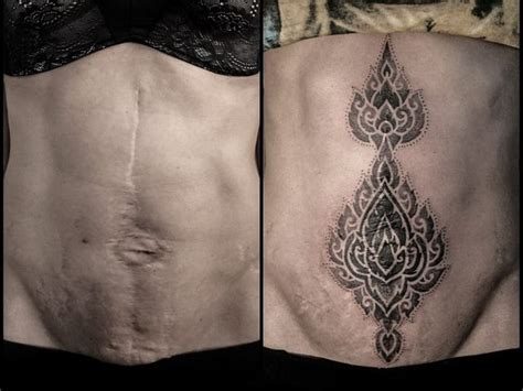 tattoo to cover scars 10 tattoos covering scars that are so beautiful and cool