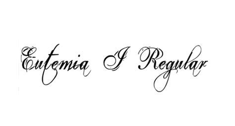 tattoo font eutemia a list of cool free tattoo fonts webdesignerdrops