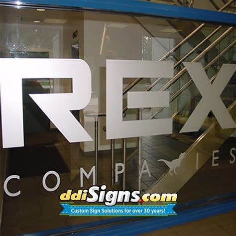 frosted glass office door ddi signs frosted glass office logo office door etched