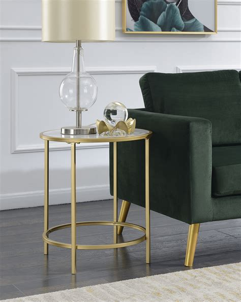 convenience concepts gold coast faux marble end table compare coast to adjustable accent table