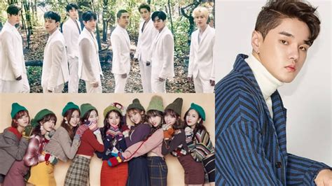 exo and twice exo twice dean and more top weekly gaon charts soompi