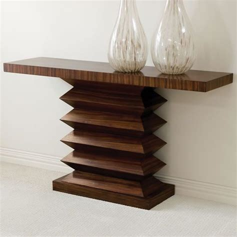 Zig Zag Console Table Global Views Zig Zag Console Table Contemporary Side Tables And End Tables By Bobby Berk Home