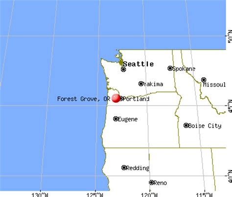 forest grove oregon map forest grove oregon or 97116 profile population maps