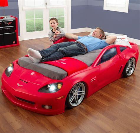 corvette bedroom rennbolide als kinderbett daddylicious