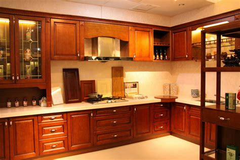 Kitchen Cherry Wood Cabinets China Cherry Kitchen Cabinet Solid Wood China Kitchen Cabinetry Cabinets For Kitchen