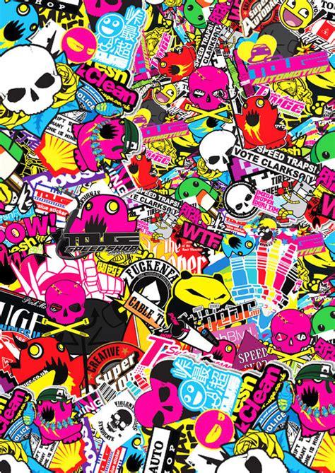 sticker wallpaper sticker bomb wallpaper hd wallpapersafari