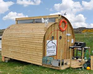 the lobster pod unusual low cost tiny house webecoist