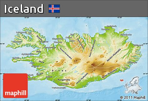 5 themes of geography iceland iceland physical map www pixshark com images galleries