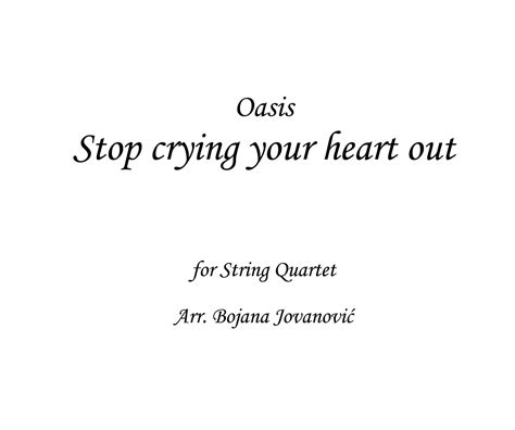 oasis stop crying your heart out official video youtube stop crying your heart out oasis sheet music string
