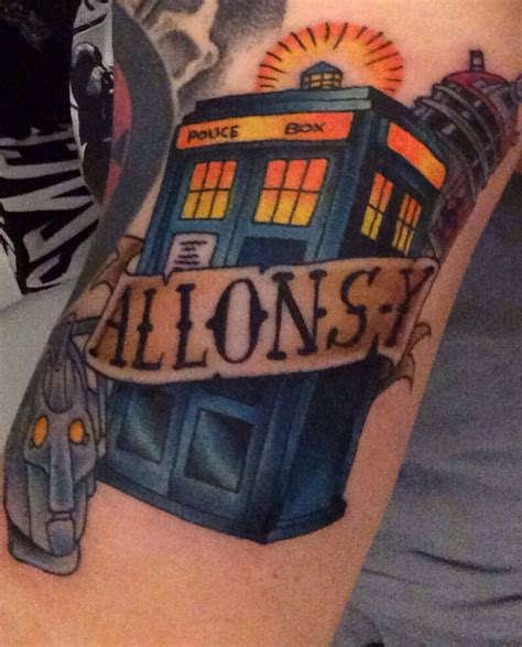 my new doctor who tattoo doctorwho