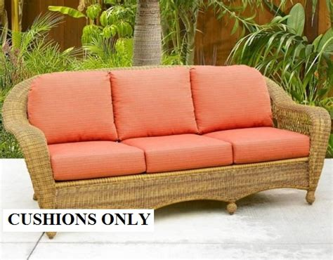 Wicker Cushions Wicker Furniture Replacement Cushions Wicker Patio Furniture Cushions