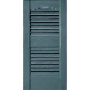 vinyl shutters home depot builders edge 12 in x 25 in louvered vinyl exterior