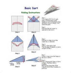 Paper Airplane Templates by 16 Paper Airplane Templates Free Pdf Documents