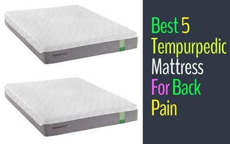top 5 tempurpedic mattresses for back spine - Top 5 Best Mattresses For Back