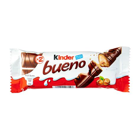 kinder bueno chocolate wafer t2 43g from redmart