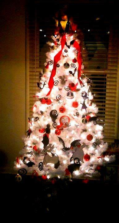nightmare before christmas christmas tree with