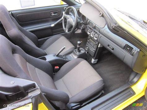Mr2 Spyder Interior by Black Interior 2003 Toyota Mr2 Spyder Roadster Photo