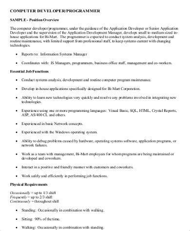 programmer description 11 sle computer programmer description pdf word