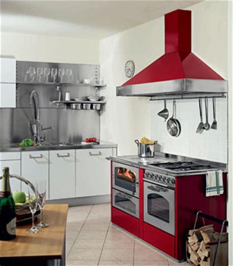 stufa a gas per cucinare cucina a legna ed a gas de manincor la fornace stufe s r l