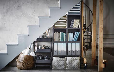 Awkward no more: That space under the stairs