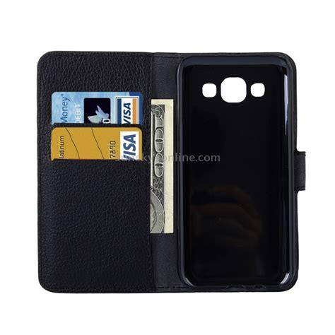 Jual Promo Samsung Galaxy E5 Flip Wallet Black Original Bpd120 sunsky for samsung galaxy e5 e500 litchi texture