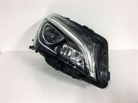 mercedes led headlights mercedes class w117 facelift led headlights