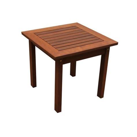 table basse de jardin en bois